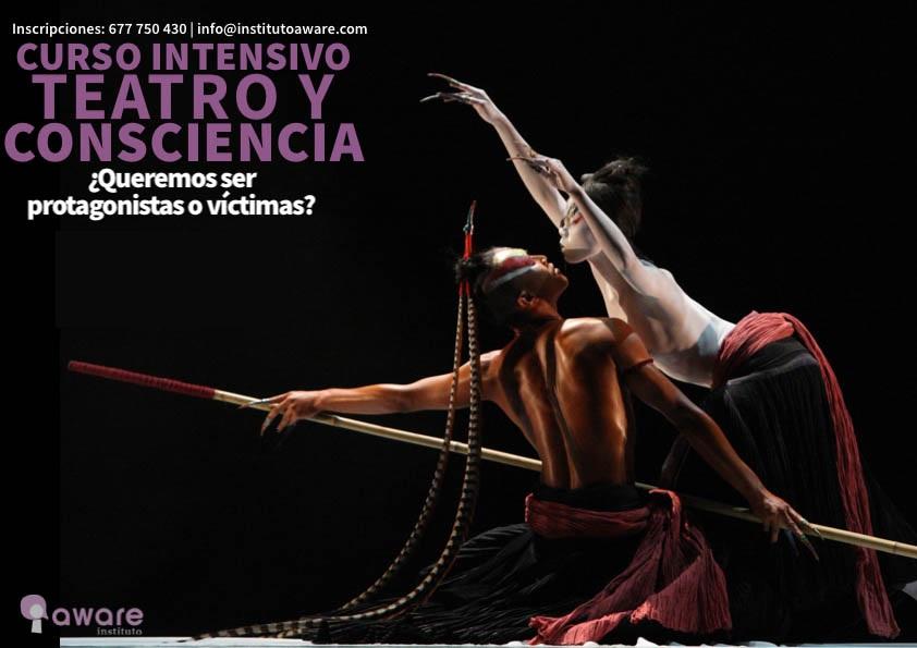 curso intensivo teatro y consciencia