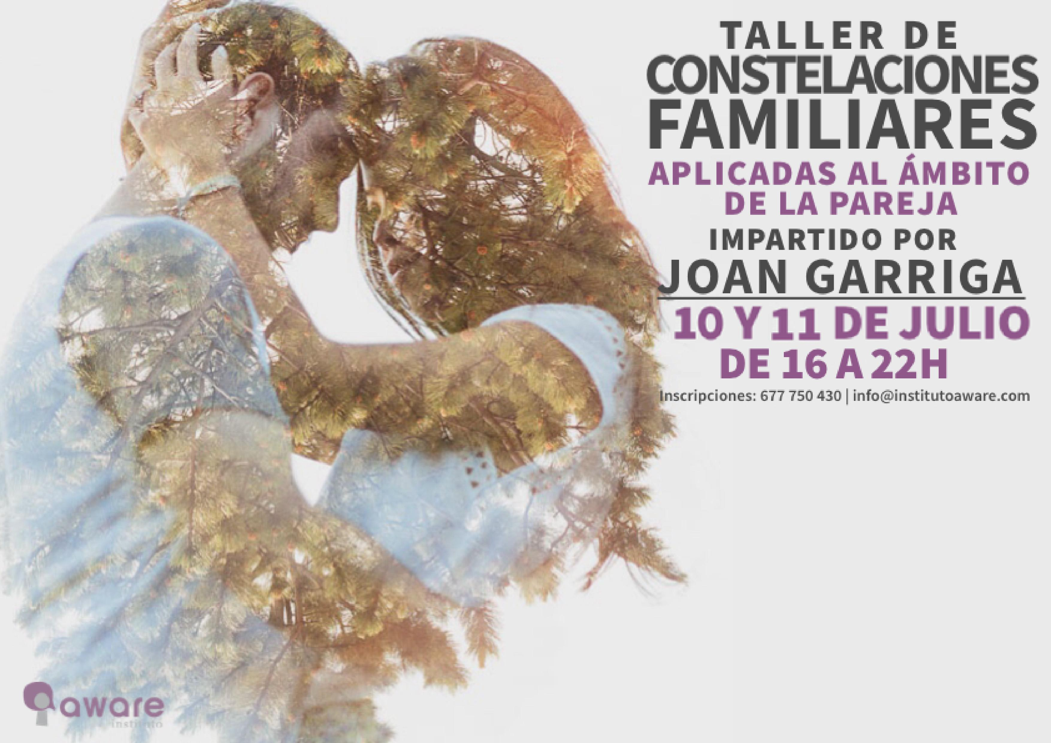 Taller Constelaciones Familiares Joan Garriga